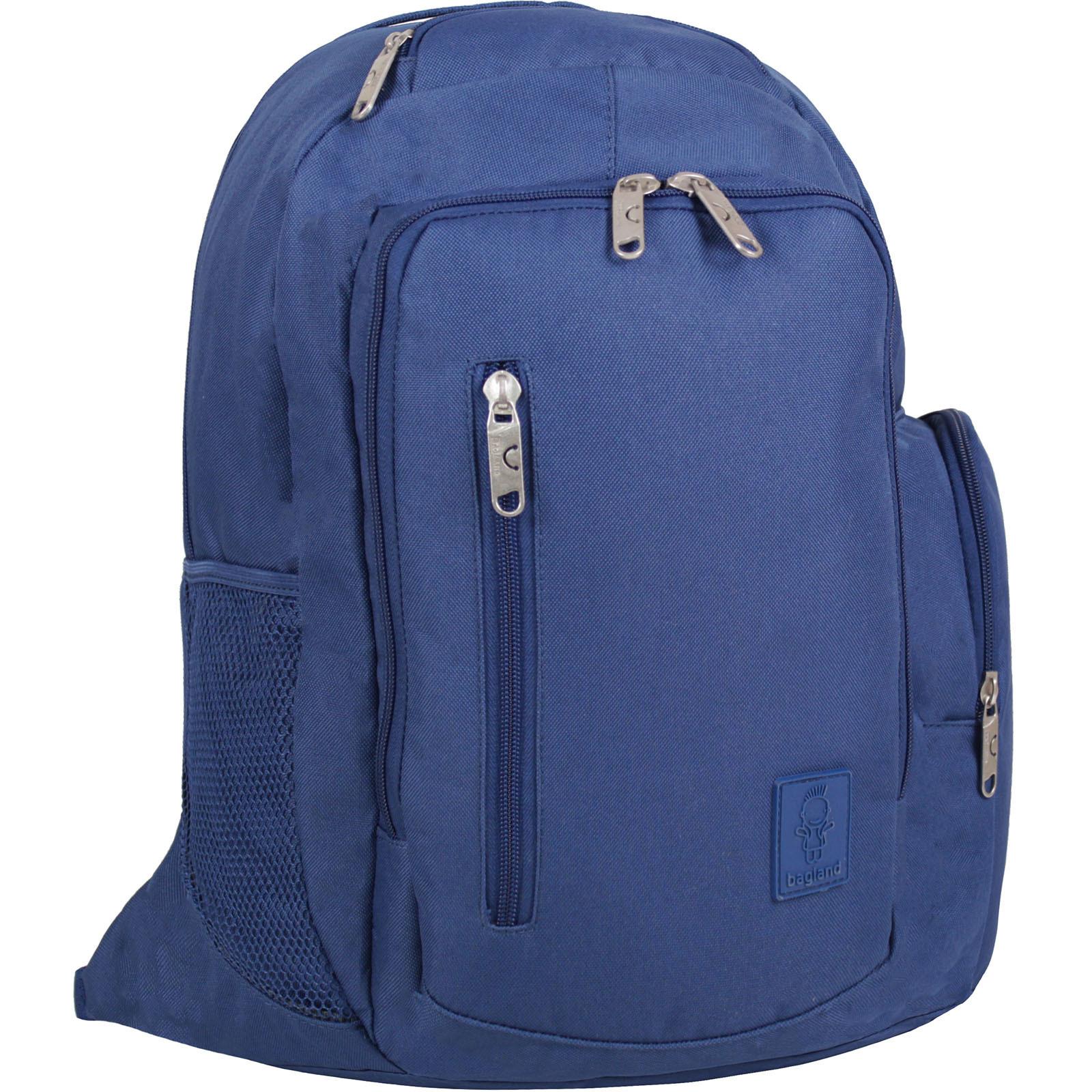 Городские рюкзаки Рюкзак для ноутбука Bagland Техас 29 л. Синий (00532662) IMG_1644.JPG