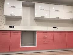 Кухня по индивидуальным размерам (пластик)