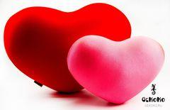 Подушка-игрушка антистресс «Большое розовое сердце» 3