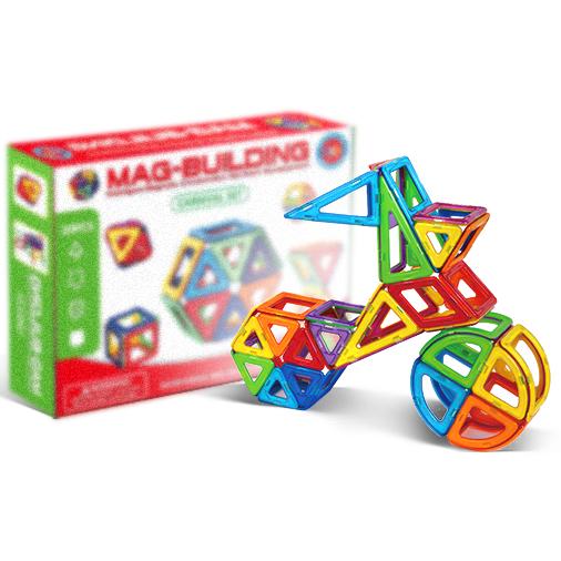 Детские конструкторы Детский магнитный конструктор Mag Building (28 деталей) 1ba885e116752d4d2bb2d914c6ebc025.png