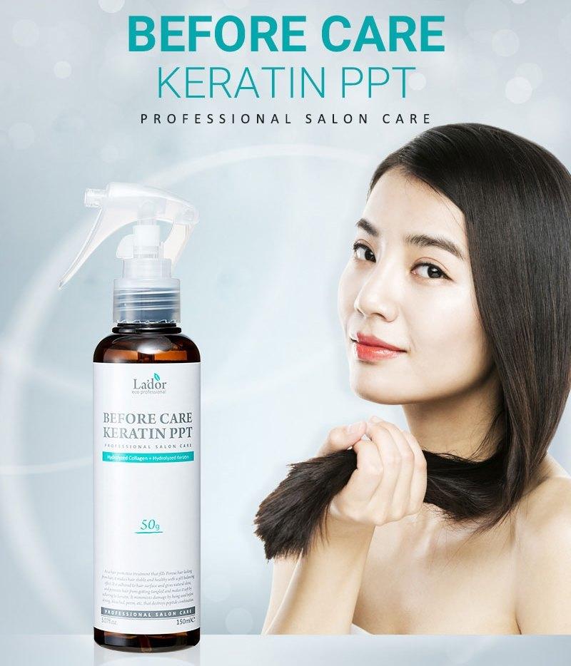 Кератиновый спрей для защиты и восстановления волос Lador