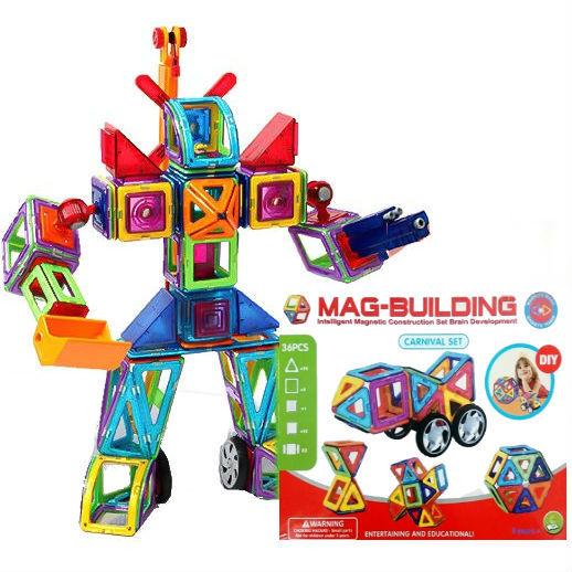 Детские конструкторы Детский магнитный конструктор Mag Building (36 деталей) 03337a708a118fd095ec513956e75b76.jpg