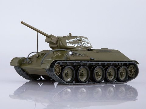 Tank T-34-76 Our Tanks #10 MODIMIO Collections