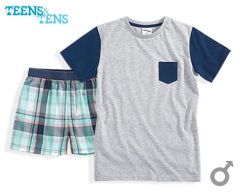 Комплект для мальчика Teens tens футболка + шорты