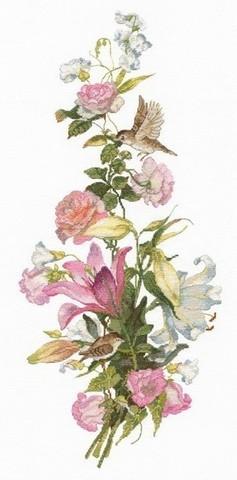 Цветочная композиция. Лилии