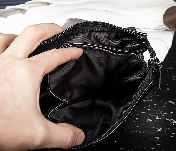 BAG560-1-2 Небольшая мужская сумка с ремнем на плечо фото 10