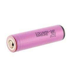Аккумулятор 18650 Samsung для светодиодных фонарей 3.7V 2600mAh с защитой