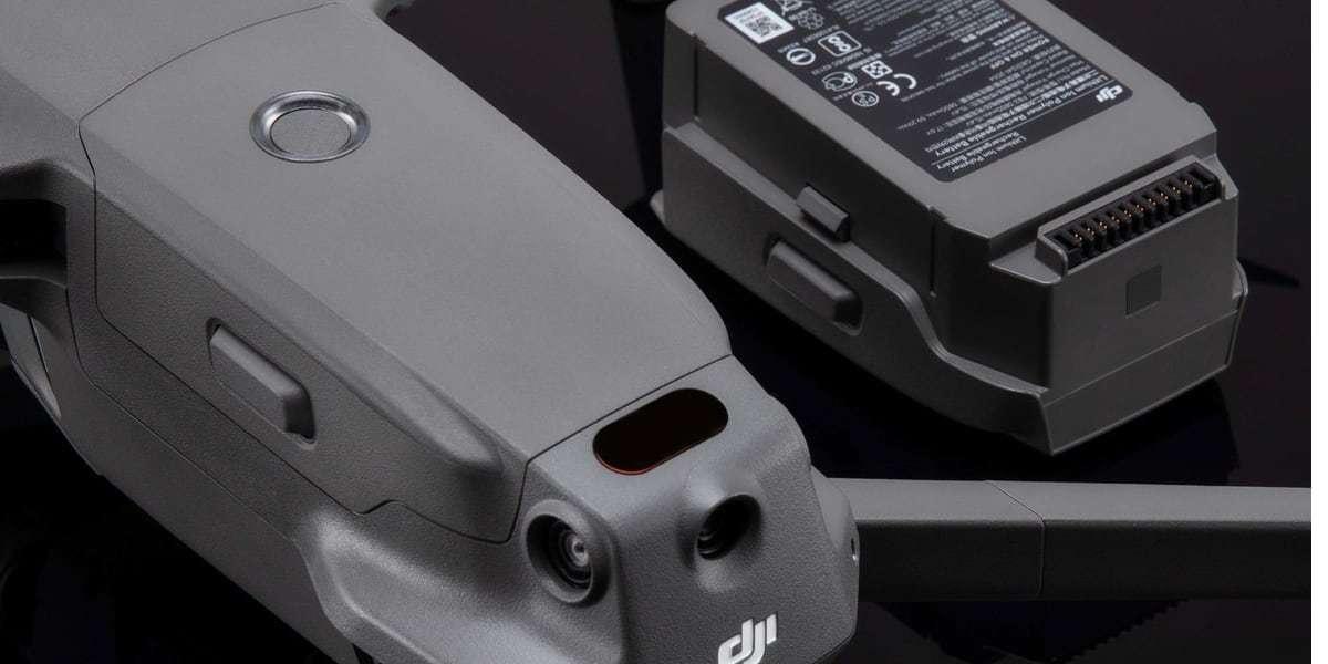 Аккумулятор DJI Mavic 2 Intelligent Flight Battery (Part2) с дроном