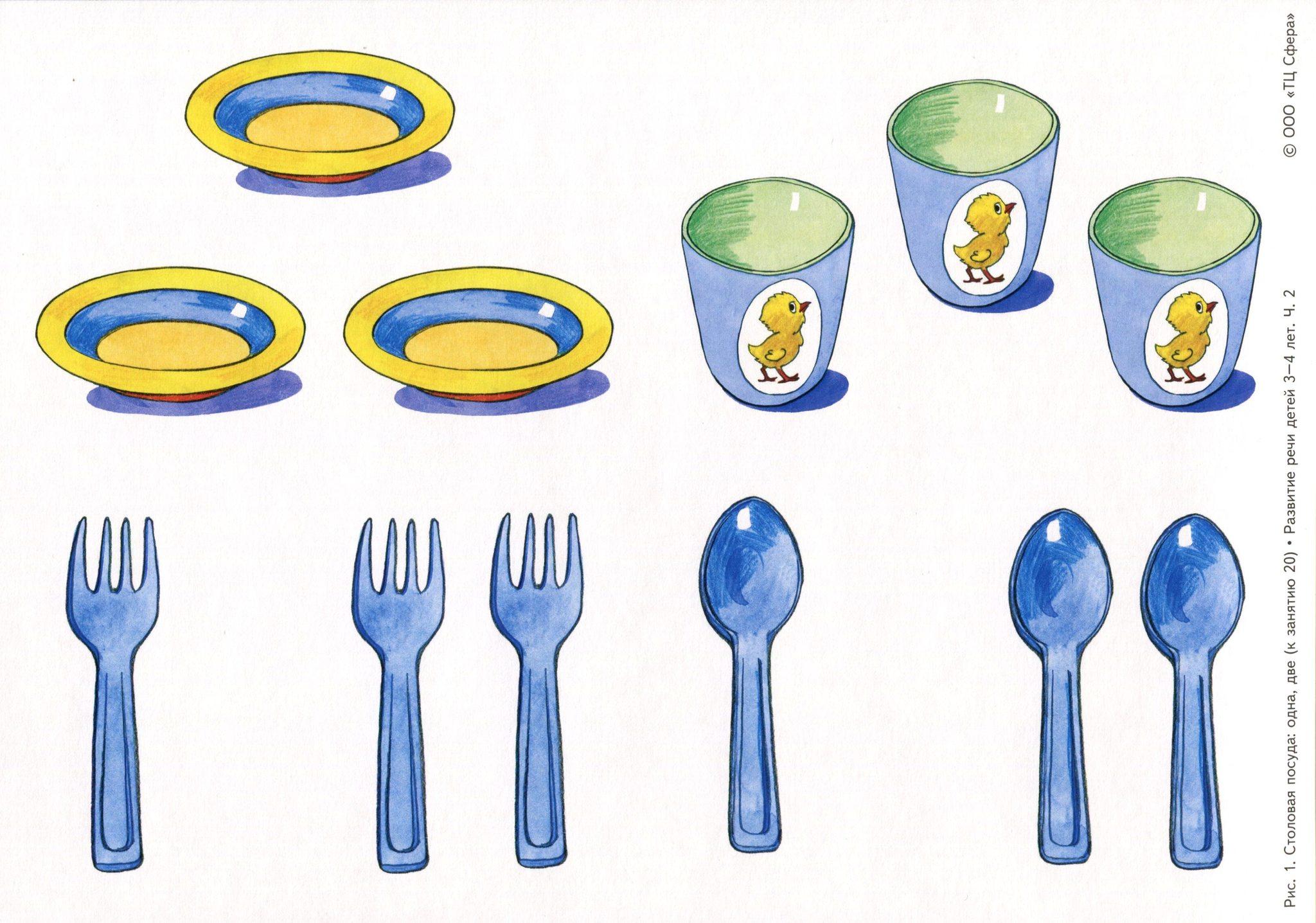 колоритные тематические наборы картинок посуда свете фар