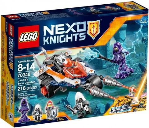 LEGO Nexo Knights: Турнирная машина Ланса 70348 — Lance's Twin Jouster — Лего Нексо Рыцари