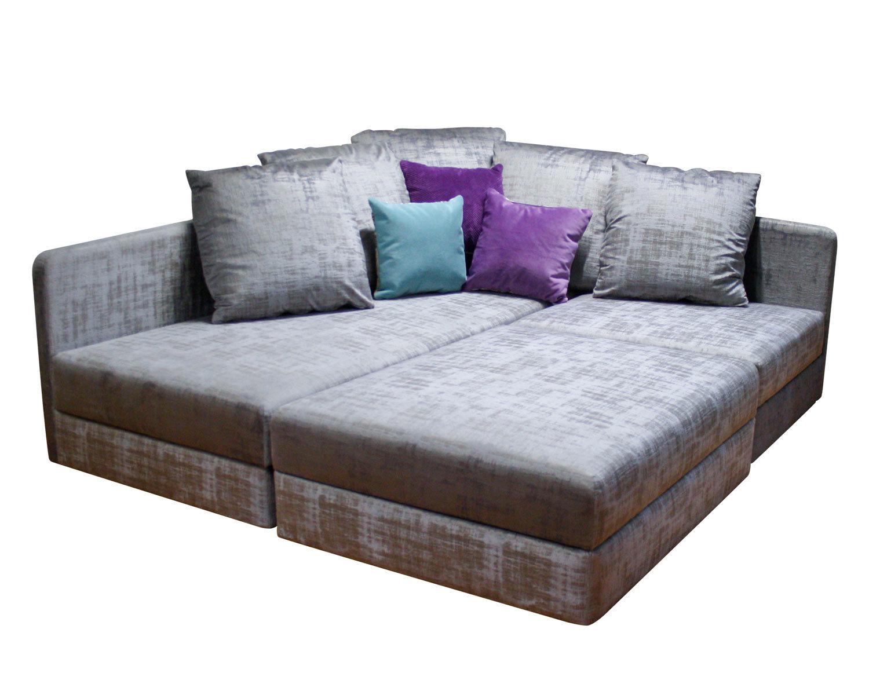 Большой угловой диван по индивидуальному проекту