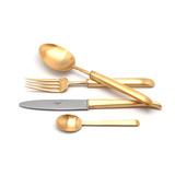 Набор матовый 24 пр CARRE GOLD, артикул 9132, производитель - Cutipol