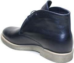Мужские кожаные зимние ботинки Ikoc 004-9 S