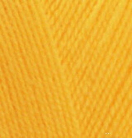 Extra life Alize 914 лимонный, фото