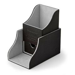 Dragon Shield - Чёрно-серая коробочка Nest+ с отделением для кубиков (100 карт)