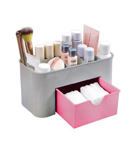 Beauty Logic Органайзер универсальный серо-розовый