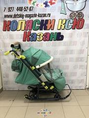 Санки Ника 7-3 (зелёный)