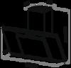 Вытяжка Maunfeld Gloria 60 черный черное - схема