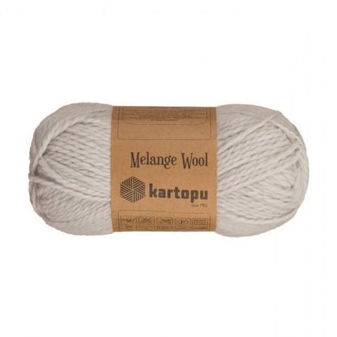Пряжа Kartopu Melange Wool арт. 928 светло-серый