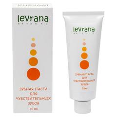 Зубная паста для чувствительных зубов, 75ml TМ Levrana