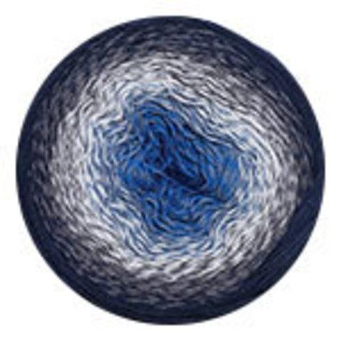 YarnArt Flowers 275 синий/белый/графит