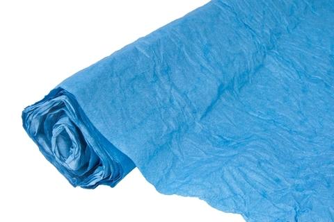 Бумага жатая эколюкс 70см х 5м темно-синяя 24