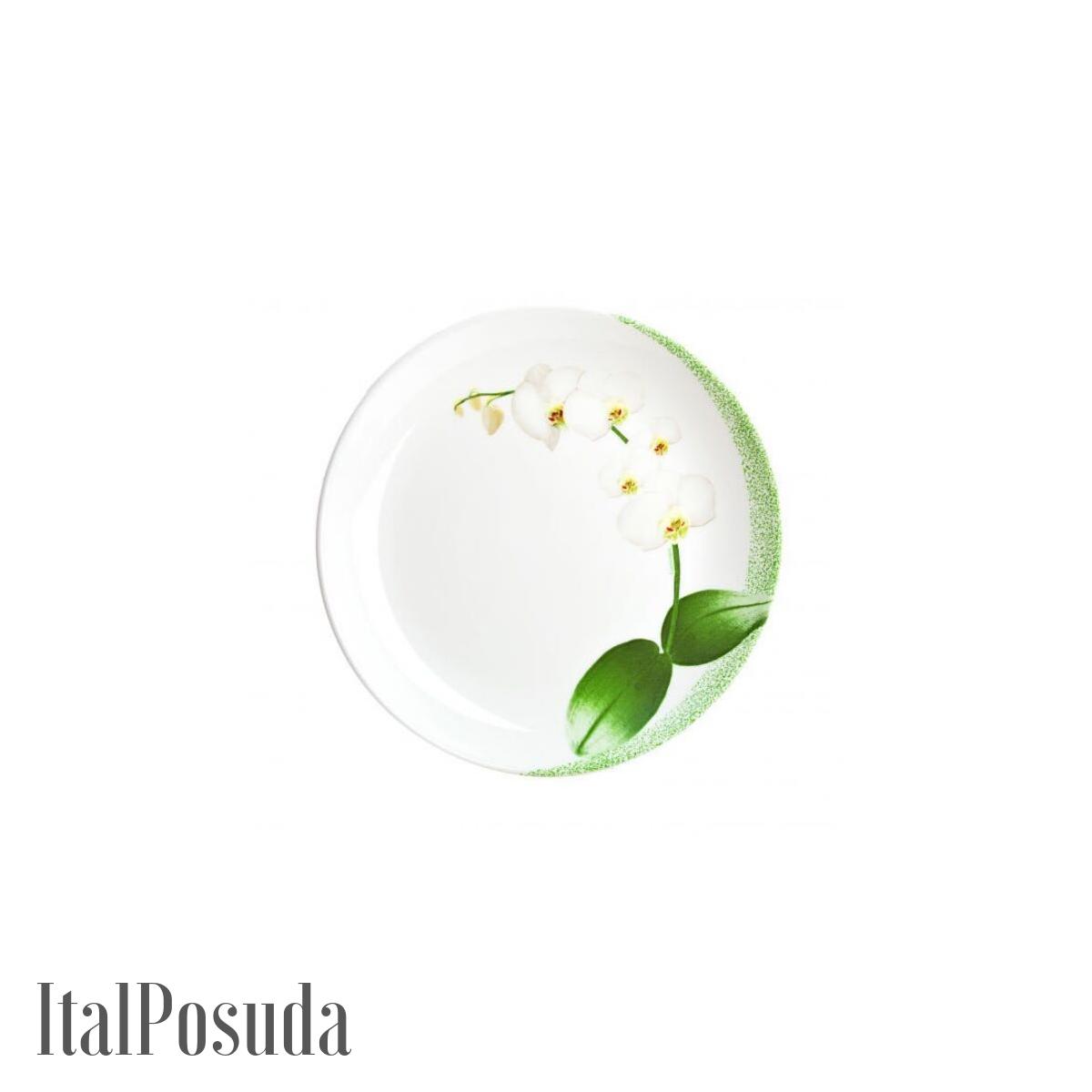 Столовый сервиз Luminarc White Orchid (Уайт Орхид), 44 предмета N9430