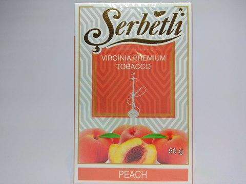 Табак для кальяна SERBETLI Peach 50gr