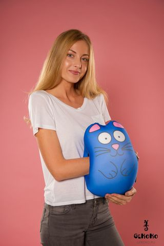 Муфта-подушка «Синий Кот»-2