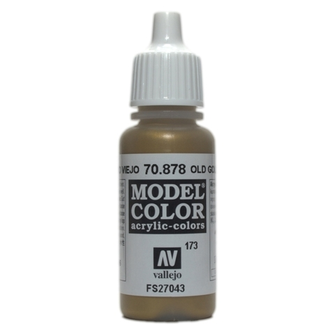 Model Color Old Gold 17 ml.