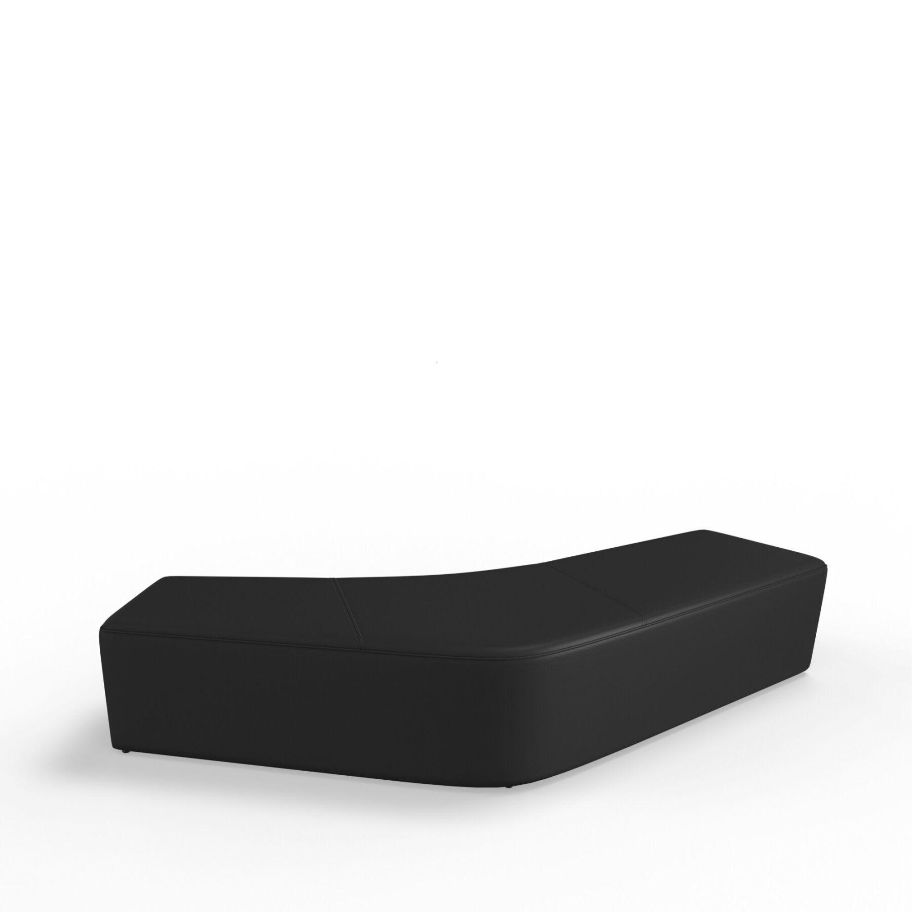 Четырехместный диван KULIK SYSTEM SLIDE_3 Экокожа Без спинки