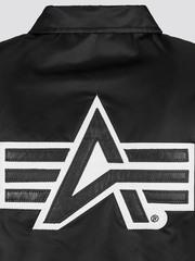 Куртка Alpha Industries Coaches Jacket (Черная)