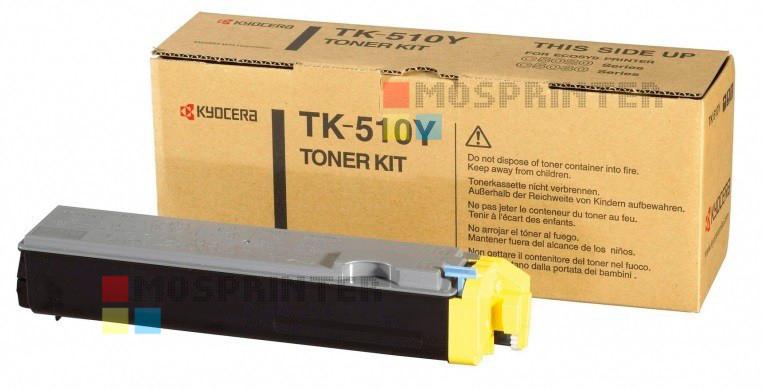 TK-510Y для Kyocera Mita FS C5020/C5030