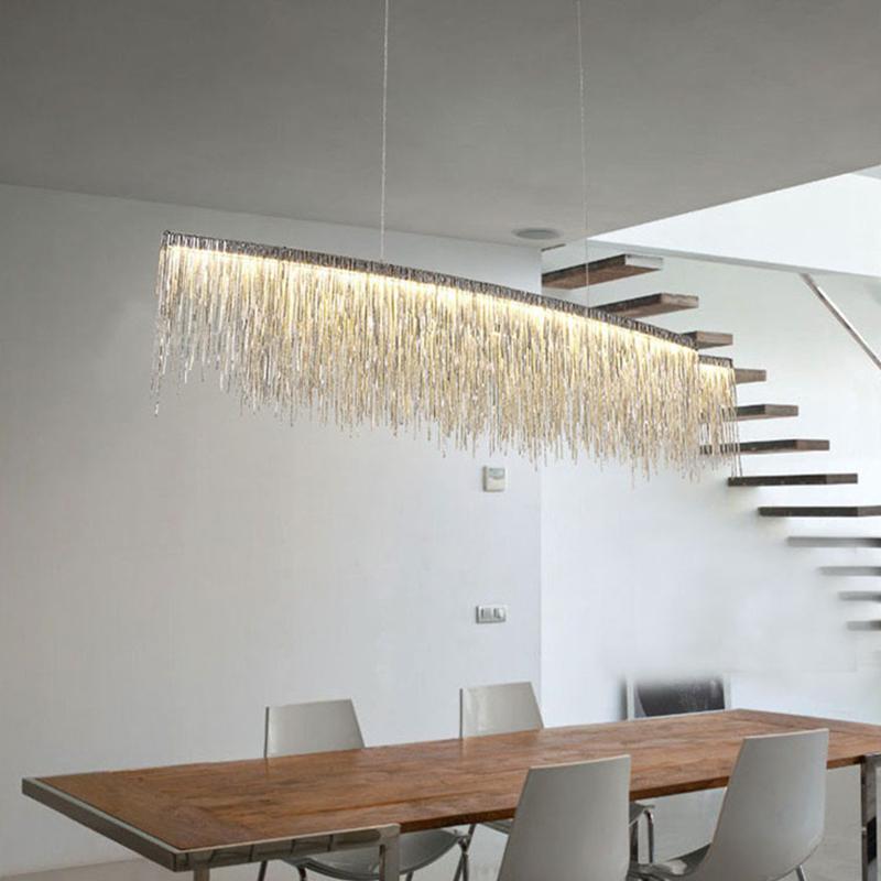 Подвесной светильник Waterfall by Light Room L100 (розовое золото)