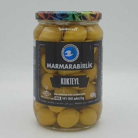 Оливки с косточкой (4XL) MARMARABIRLIK