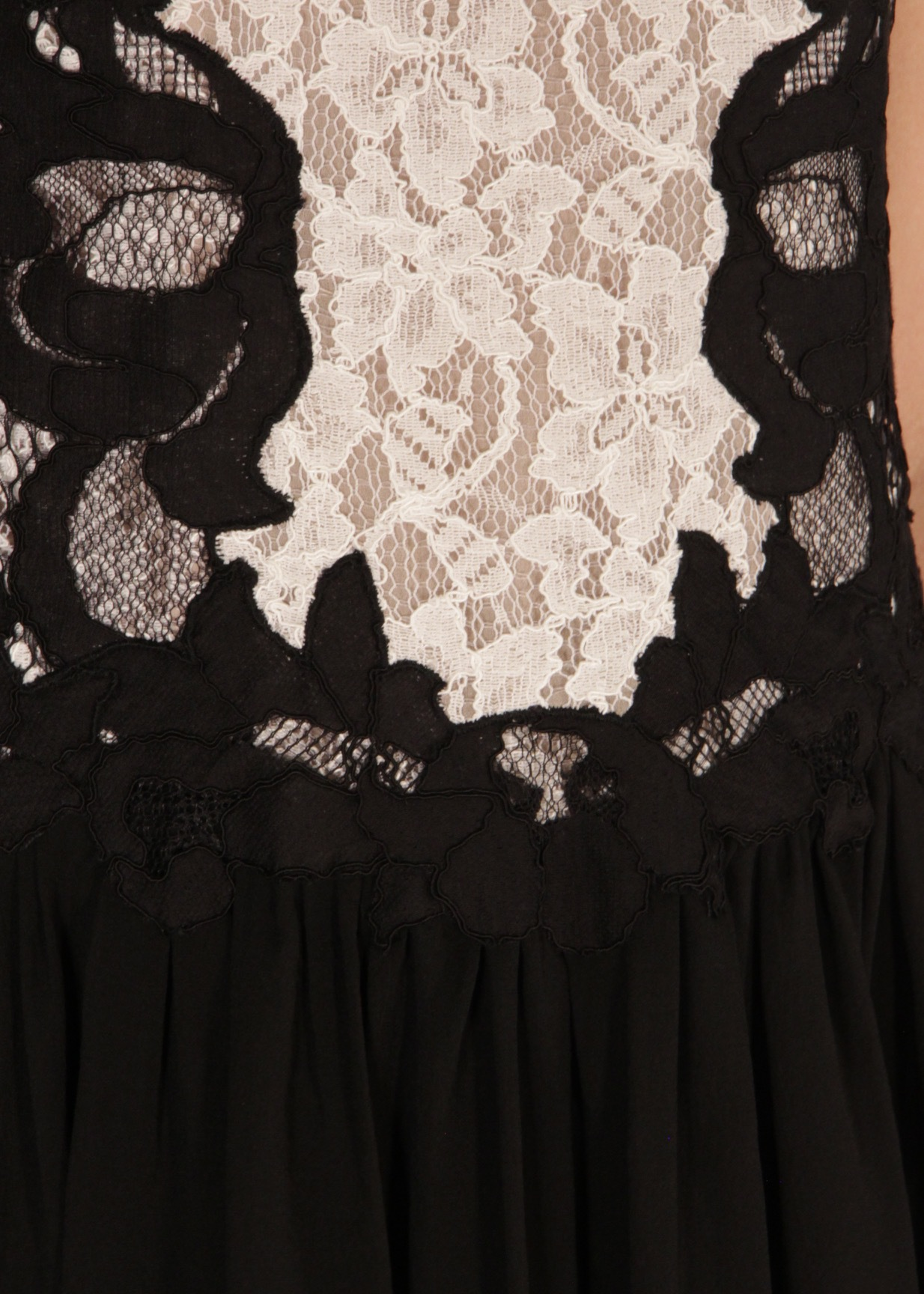 Платье из хлопка и нейлона DIANE VON FURSTENBERG
