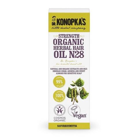 Масло для волос №28, 30 мл (Dr.Konopka's)