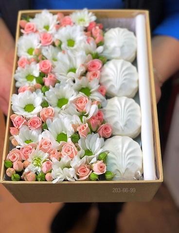 Цветы и зефир #2091