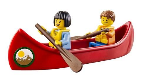LEGO City: Дом на колёсах (Автодом) 60057 — Camper Van — Лего Сити Город