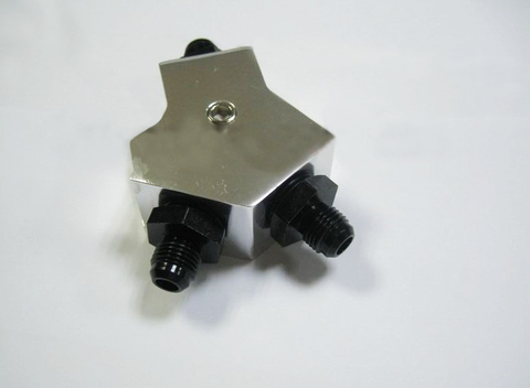 Топливный Y тройник AN6, AN8, AN10 hose fitting