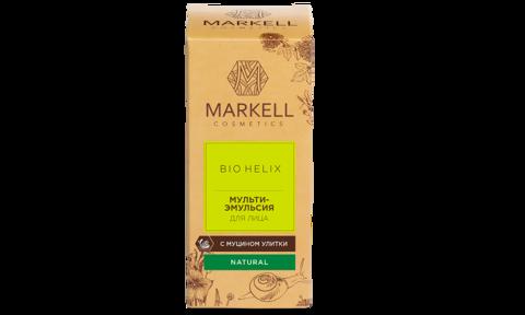 Markell Bio-Helix Мульти-эмульсия для лица с муцином улитки 10мл