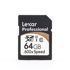 SDXC 64 Gb Lexar Professional 600x