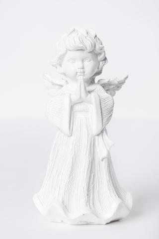 Декоративная статуэтка. Ангел в длинном одеянии.
