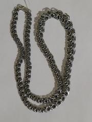 Роза-колье (серебряная цепочка)