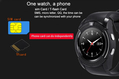 часы Smart Watch V8 black