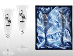 Набор бокалов для шампанского «Я родился!», фото 5