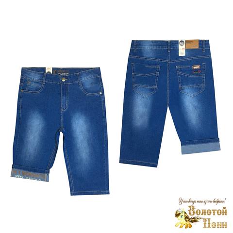 Бриджи джинсовые подростковые (140-170) 200527-В5021
