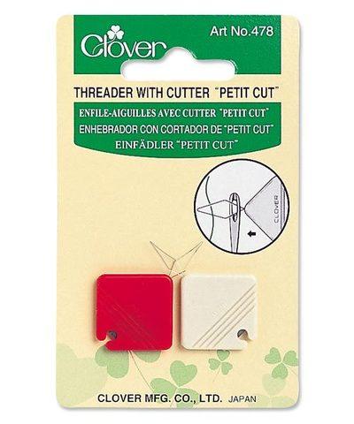 Clover Нитевдеватель и нитеобрезатель Petit Cut 478