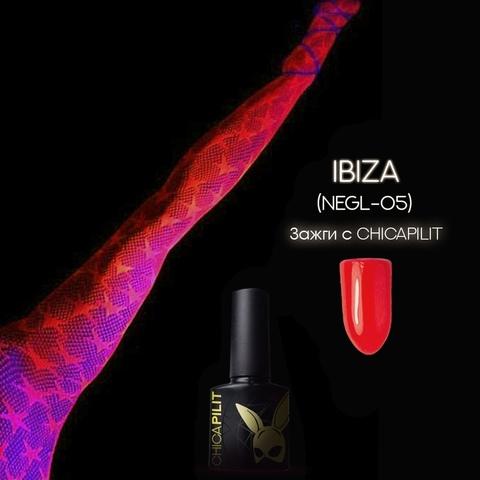 Гель лак CHICAPILIT, Ibiza | Ибица,коллекция TOXIC, CHICAPILIT, 10мл