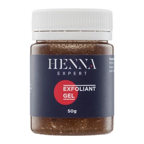 Скраб гель для бровей с миндальной крошкой HENNA EXPERT 50гр